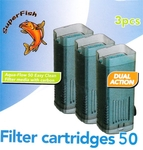 Aqua-Flow 50 - Easy-Click Filter Cartrigdes